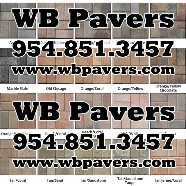 White Cement Wb Pavers